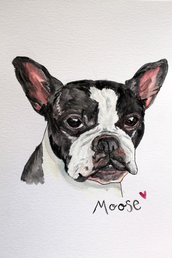 french bulldog painting (1)