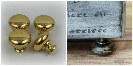 Brass Knobs Collage