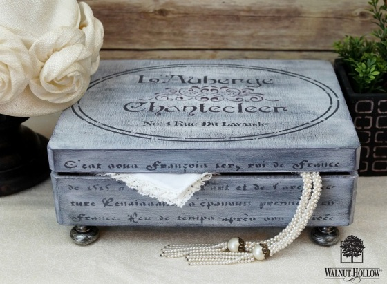 Vintage French Inspired Keepsake Box