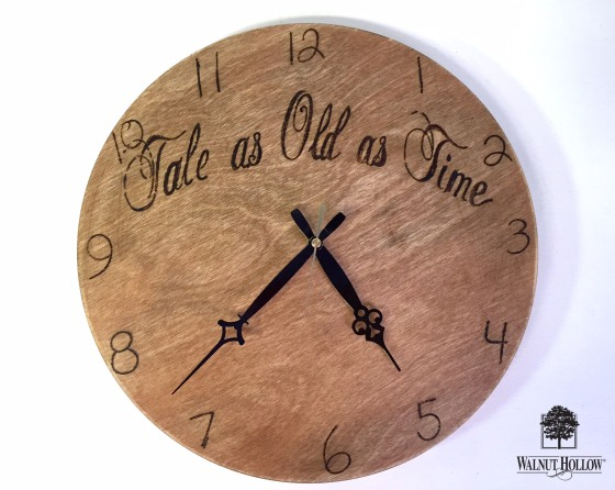 wedding guest book clock