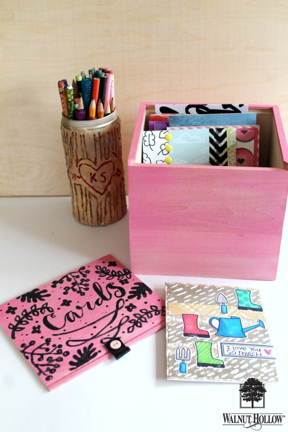 WH Painted Card Organizer Box (2)
