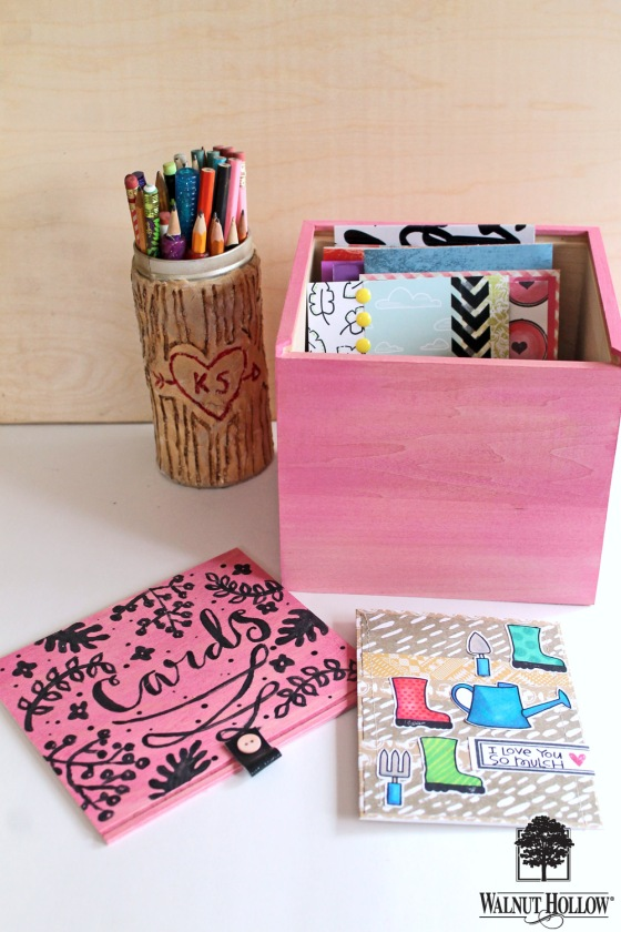 WH Painted Card Organizer Box (7)