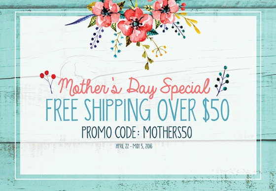 Craft_MothersDayFreeShipOver50_BNR