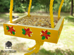 Wood Canvas DIY Bird Feeder