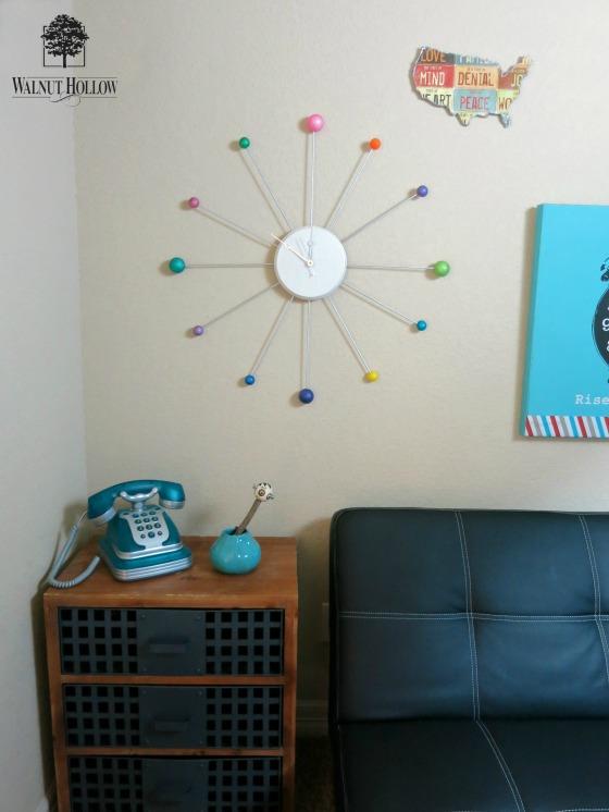 WH retro clock DIY