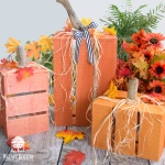 Fast Fall Porch Pumpkin Crates