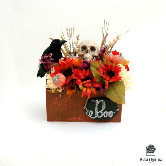 Boo Halloween Pumpkin Box