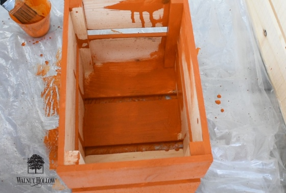 Paint the Rustic Crate