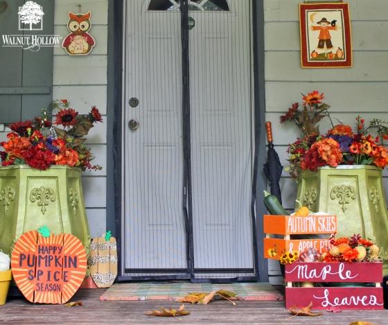 diy fall crates porch decor 940