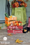 diy fall crates porch decor