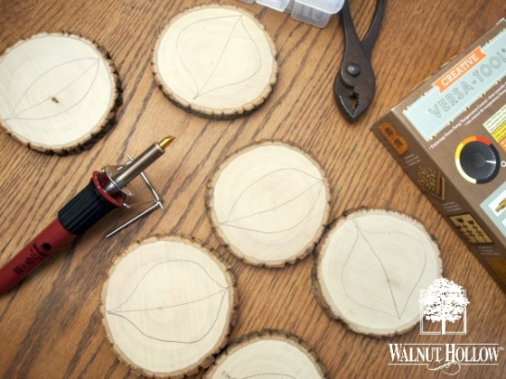 Leaf Design Coasters