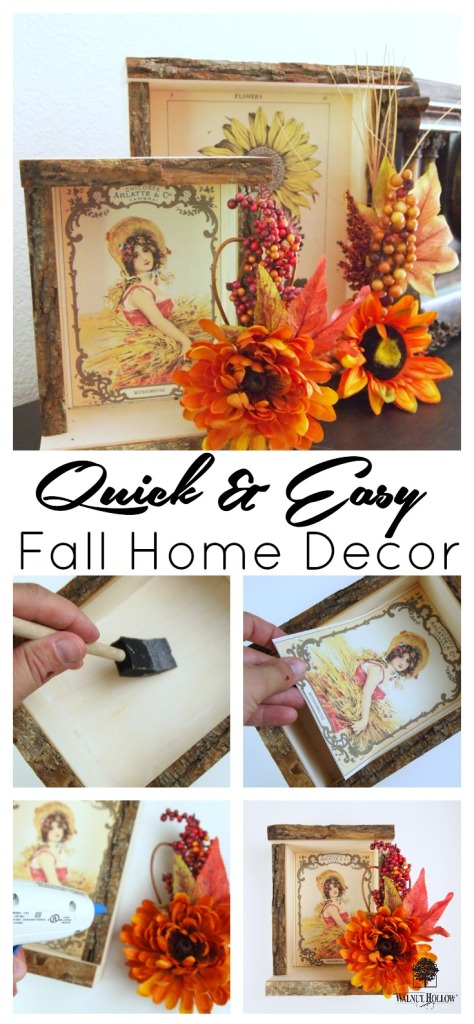 Quick Easy Fall Home Decor