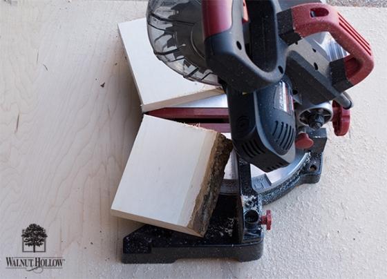 Cut the Bark Edge Boards in half