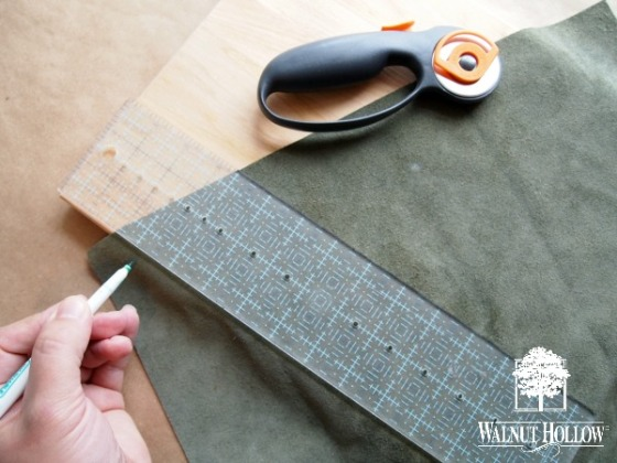 Measuring Leather Pieces