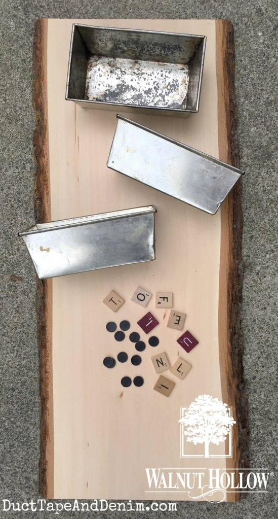 Supplies for upcycled mail sorter