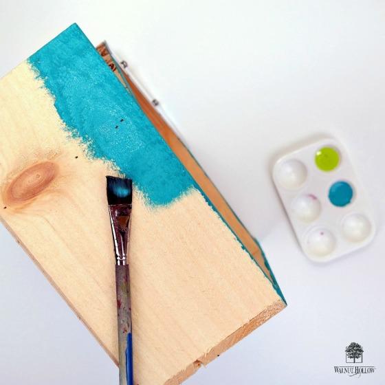 Painted Birdhouse Box by Dana Tatar