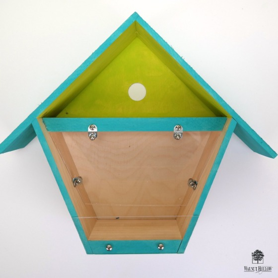 DIY Birdhouse Box to Bird Feeder by Dana Tatar