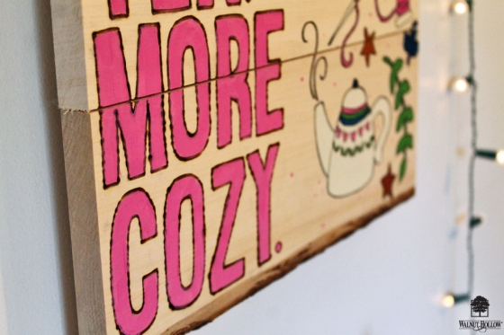 Make a Hygge inspired Wall Art using this tutorial by @punkprojects & a Wood Panel by @walnuthollow