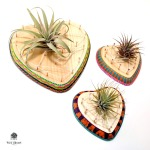 String Art Heart Air Planters by Dana Tatar for Walnut Hollow
