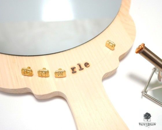 How to Use the Mini HotStamps Alphabet Set with the Creative Versa-Tool