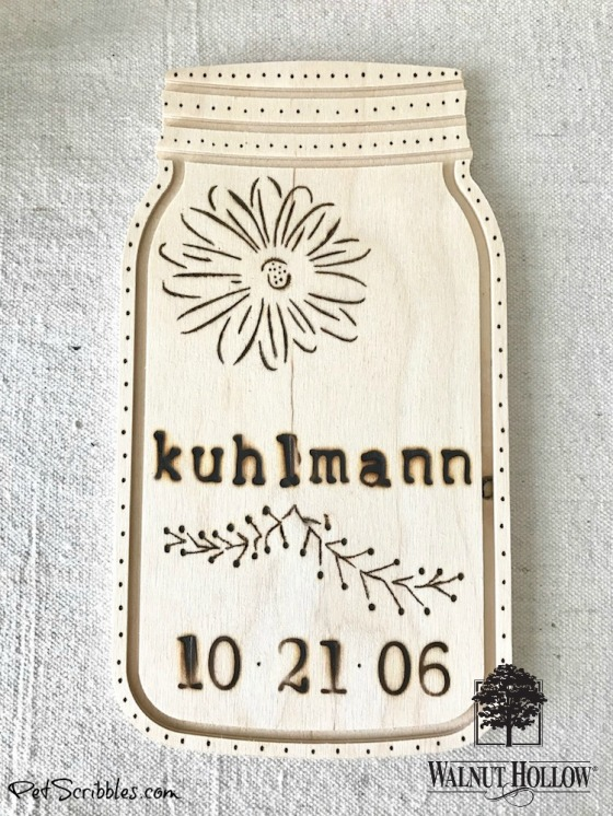 Rustic Wedding Anniversary Sign