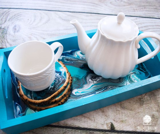 Marbled Tea or Coffee Service