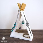 TeePee Jewelry Organizer Shelf