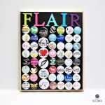 Magnetic Flair Board Craft Supply Organizer by Dana Tatar