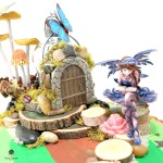 Fairy Garden Centerpiece Closeup by Dana Tatar for Walnut Hollow