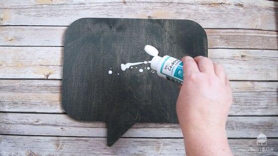 Clear Chalkboard Coating