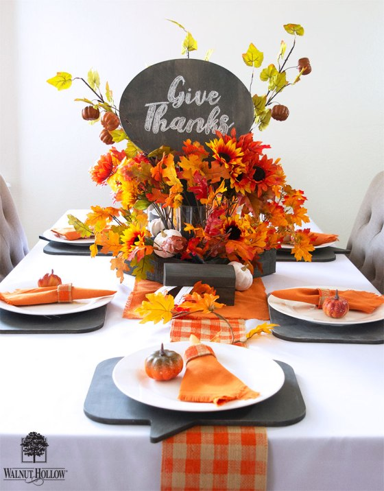 Give Thanks Tablescape