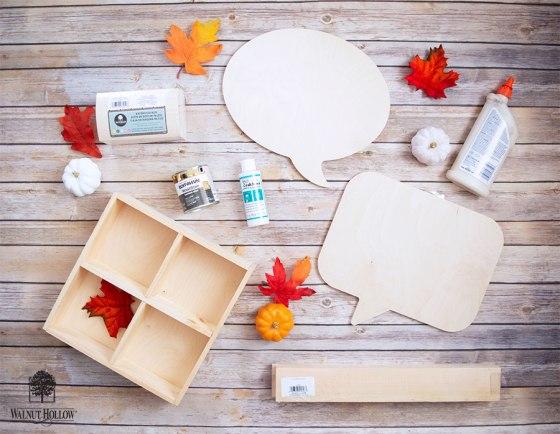 Thanksgiving Tablescape Supplies