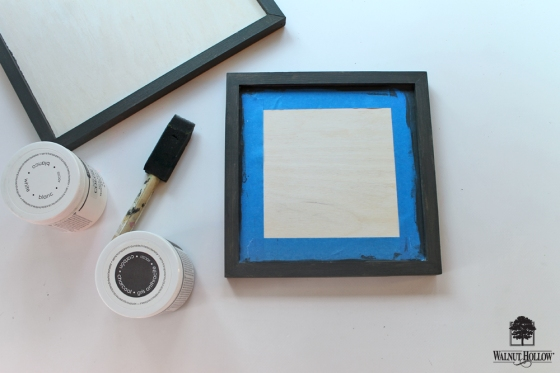 DIY Framed Quote Signs step 1