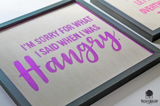DIY Framed Quote Signs step 5