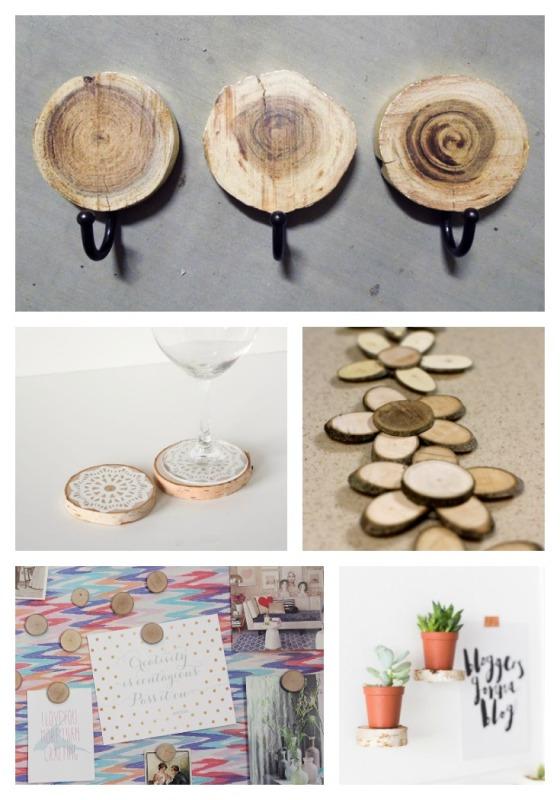wood round craft ideas walnut hollow