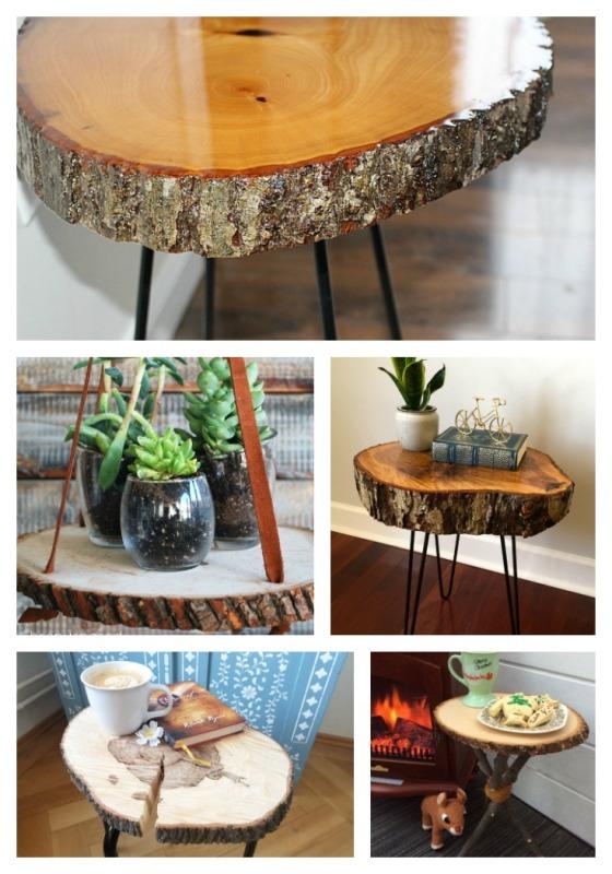 wood slice tables walnut hollow