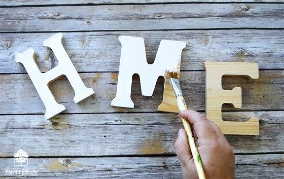 Paint the Letters