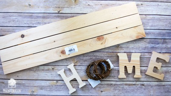 Interchangeable Wreath Home Sign Supplies